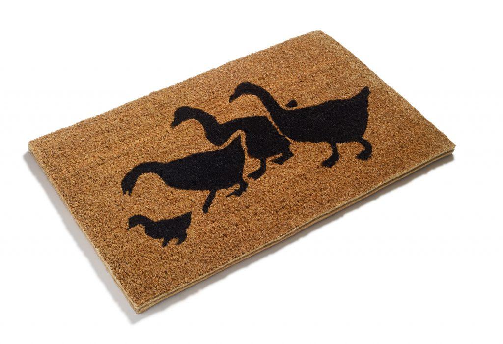 Printed Geese Doormat