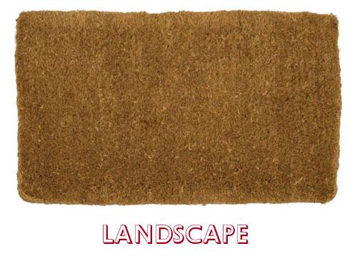Landscape Orientation Mat
