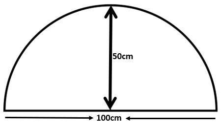 Custom-Shaped-Door Mat-True-Semi-Circle