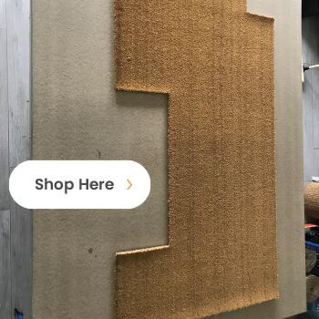 Custom Shaped Door Mat call to action