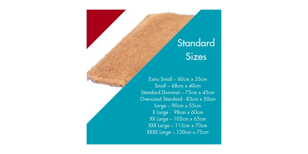 Doormat Size Guide