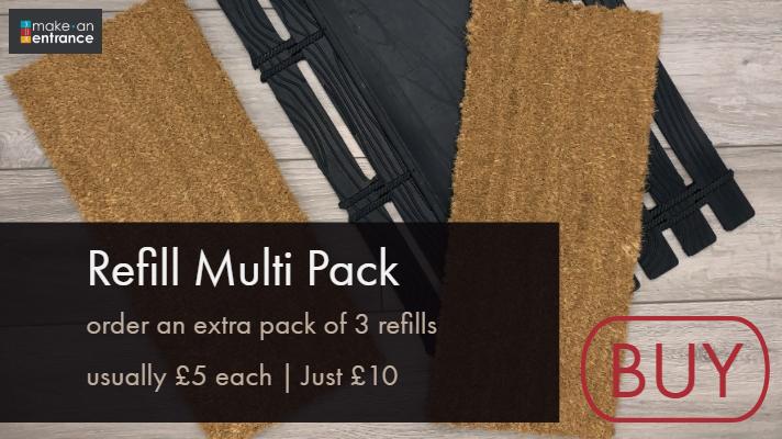 Door Mat Inserts - Multipack £10
