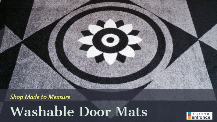 Made to Measure Washable Door Mats Indoor