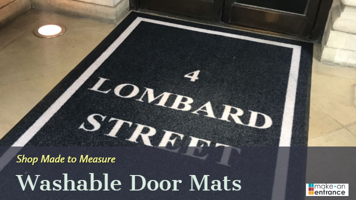 Made to Measure Washable Doormat - Outdoor Style