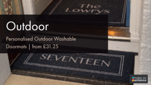 Personalised Outdoor Washable Doormats Blog