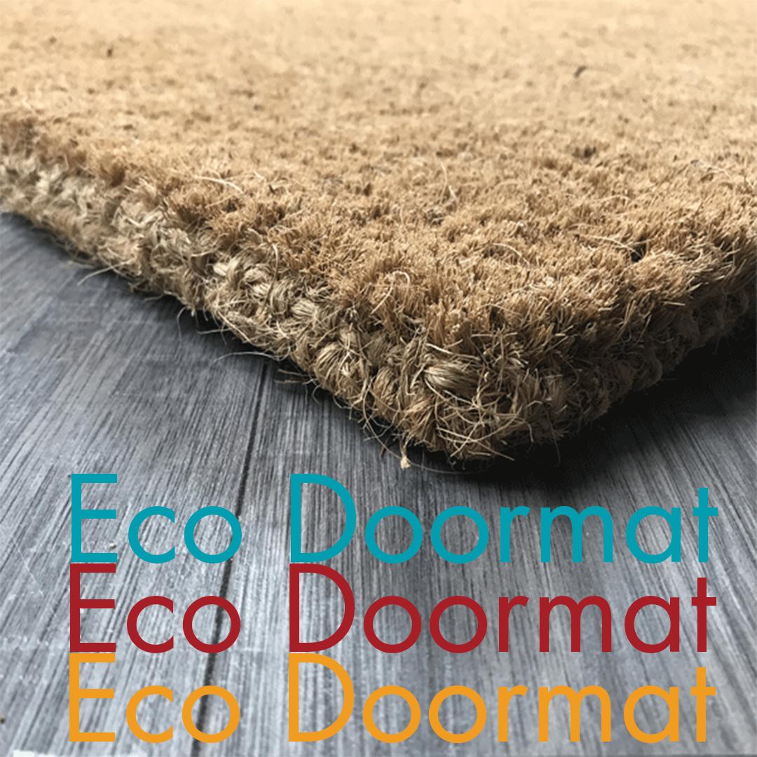100% Coir Doormats are the best eco doormats available.