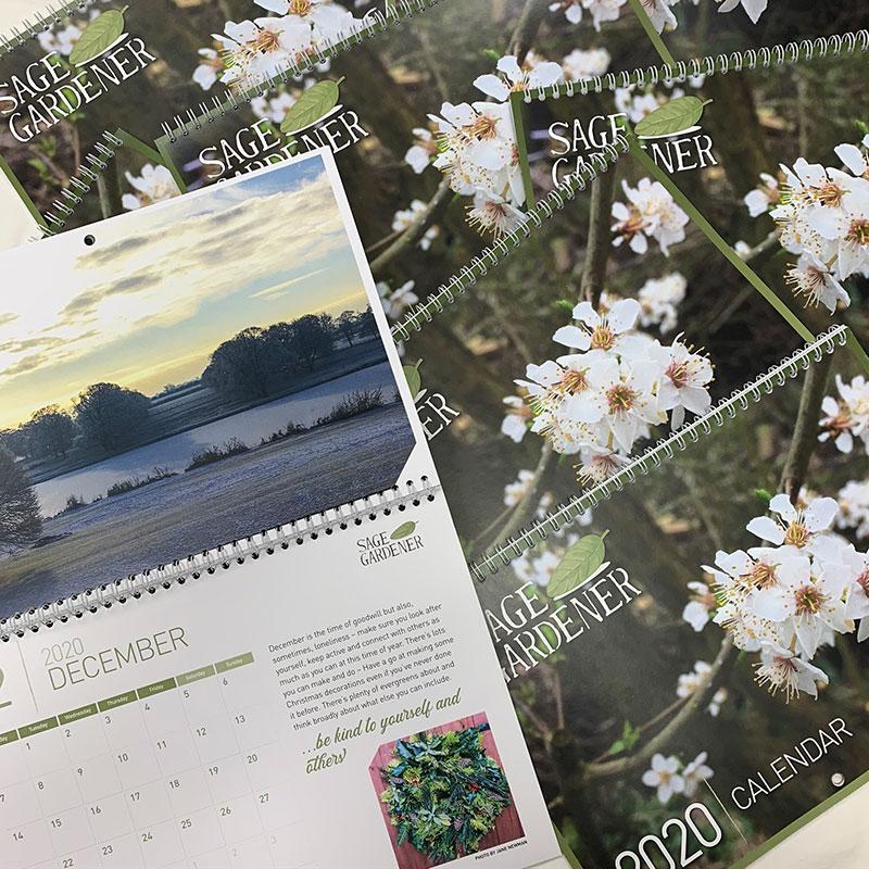 age Gardener Charity Calendar 2020