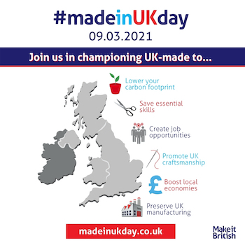 6 Benefits of buying products Made in UK - made in uk day