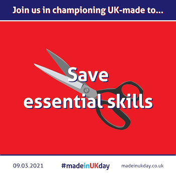 Buying UK made products saves skilled jobs - made in uk day