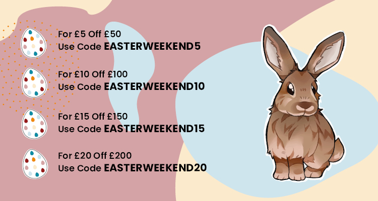 Easter Bank Holiday Offer Discount Codes