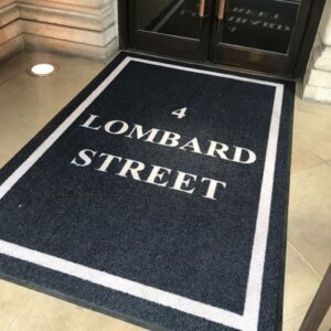 Personalised Doormats for Businesses Outdoor logo
