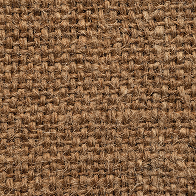 Jute Matting is woven to create horizontally running fibres and a smooth surface.