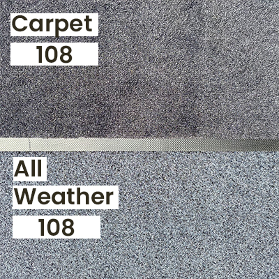 """A comparison of our """"Black 108"""" Colour in outdoor lighting."""